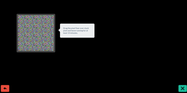 fix stuck pixels LCD OLED screens