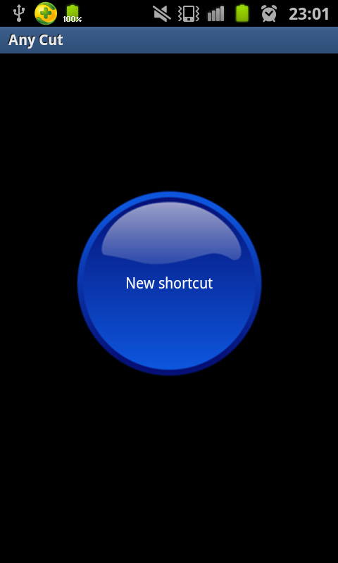 set call shortcut for Skype contact