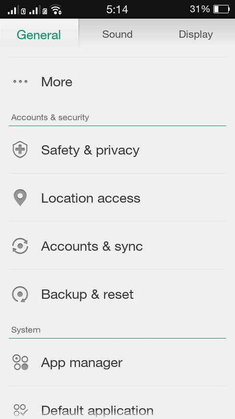 How to set a screen lock password in Oppo Joy 3 [Tip] | dotTech