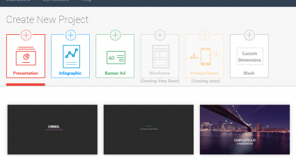 create presentations online b