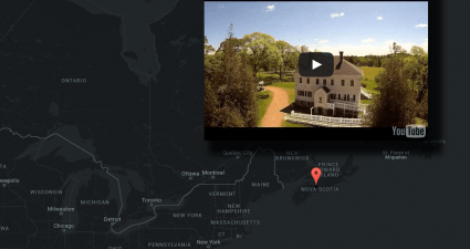 explore YouTube using a map