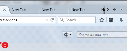 readable and close tabs