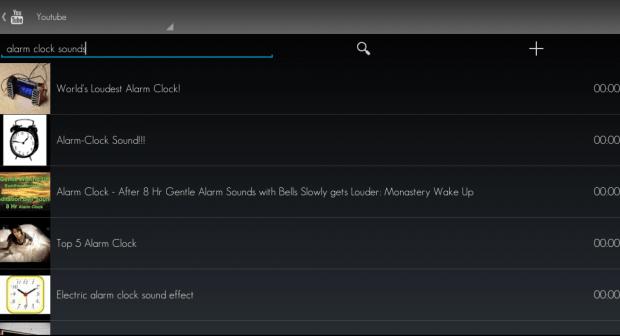 set YouTube video as alarm tone Android e