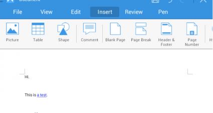 create PDF Android