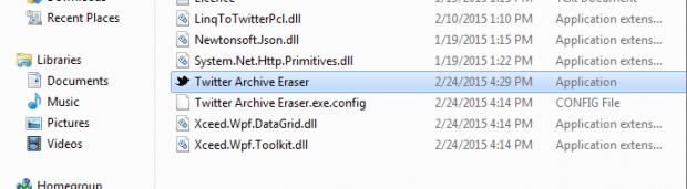 delete tweets Twitter Archive Eraser a.3