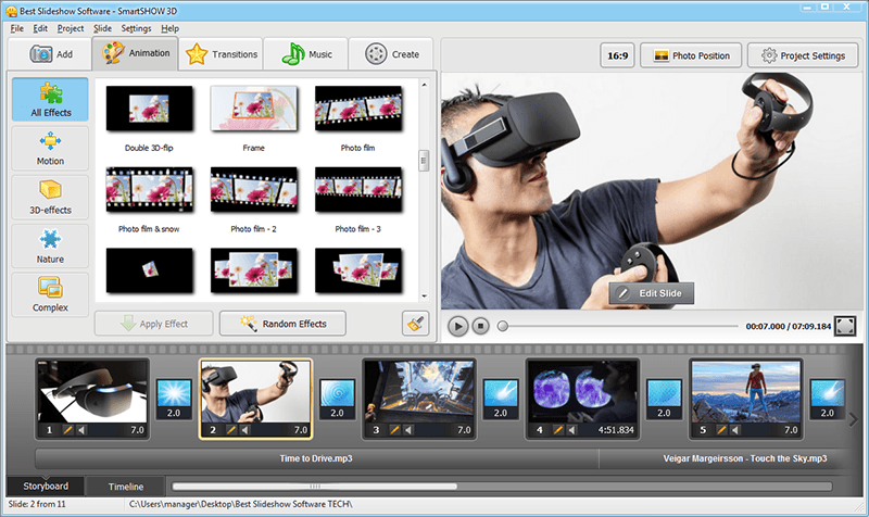 Best Video Slideshow Software 2015 Striking Fusion Of