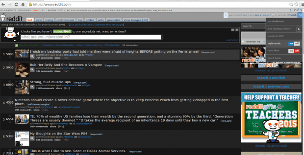 reddit night mode chrome c