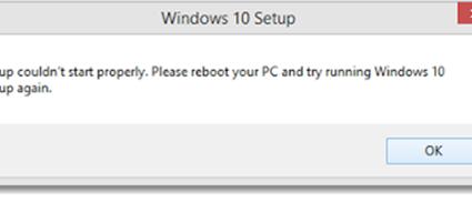 Setup-couldnt-start-properly-windows-10