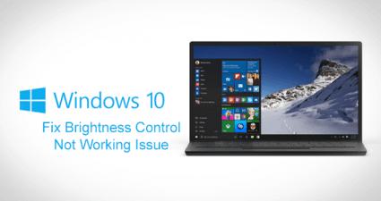 Windows-10-Brightness-issue