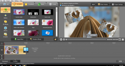 SmartSHOW 3D SlideShow Software Windows
