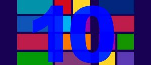 Windows 10 background tiled