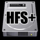 hfs hard drive