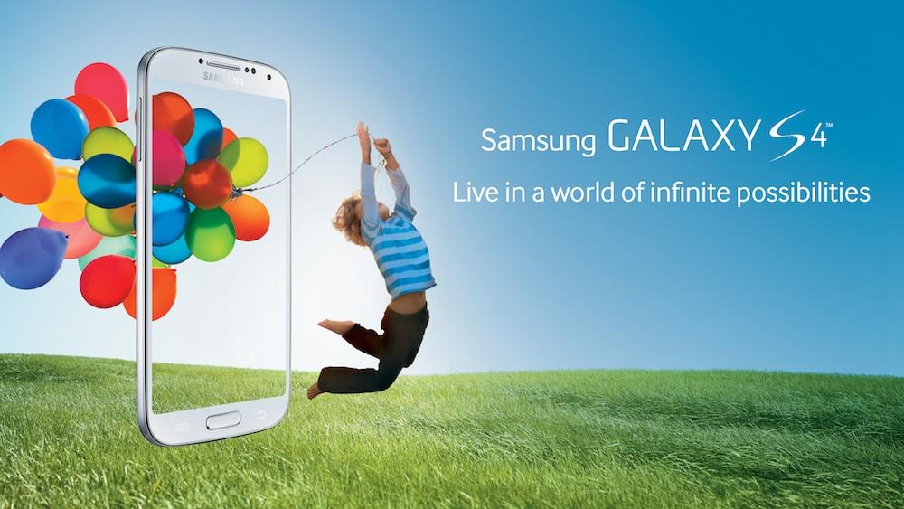 Samsung Galaxy S4 advertisement