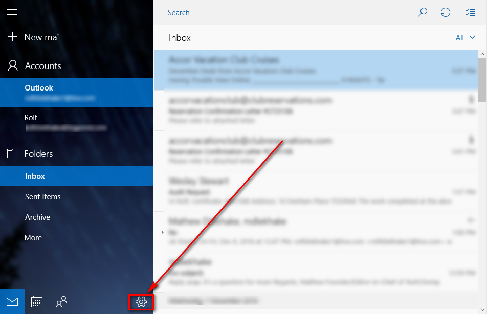 How to change Windows 10 email app password [Tip] | dotTech