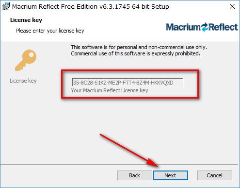 macrium reflect home license key