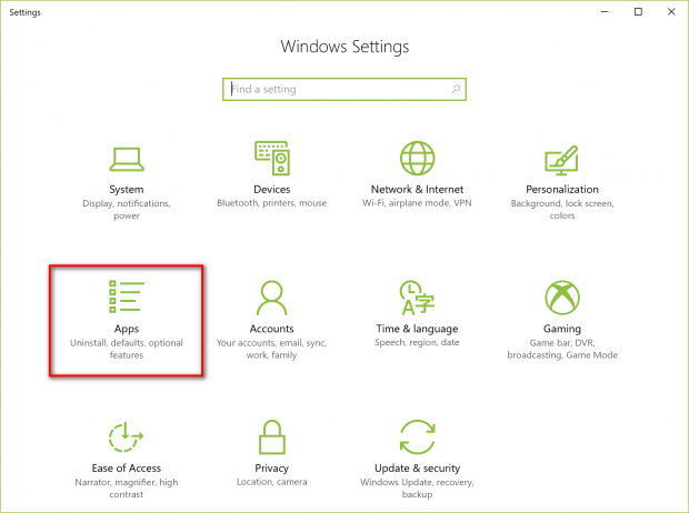 How to prevent installing apps from outside Windows Store in