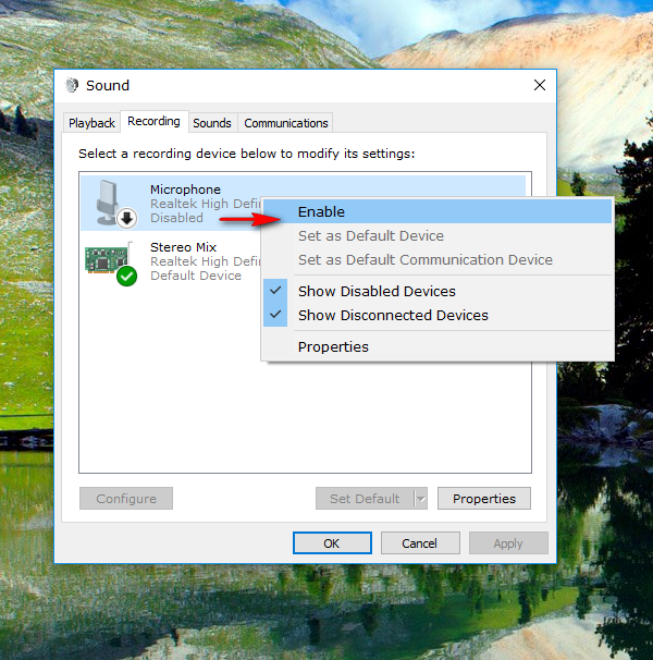 How to enable or disable microphone in Windows [Tip] | dotTech