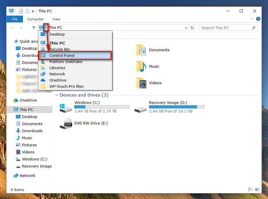 How to open Control Panel in Windows 10 [Tip]   Reviews ...
