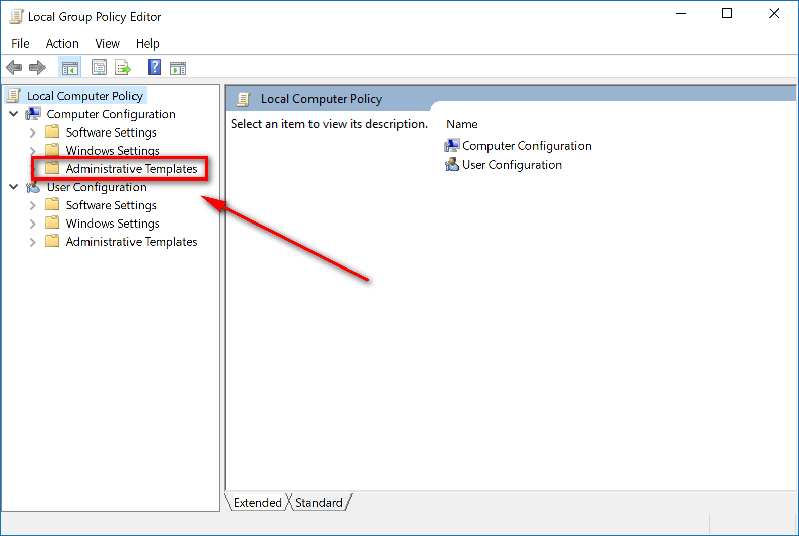 local group policy windows 10 enterprise