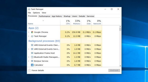 how to get task manager in windows 10