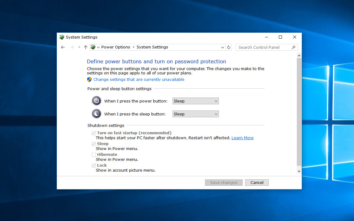 How to turn on/off fast startup in Windows 10 [Tip] | dotTech
